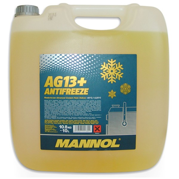 Mannol AG13+ Advanced Antifreeze 10L